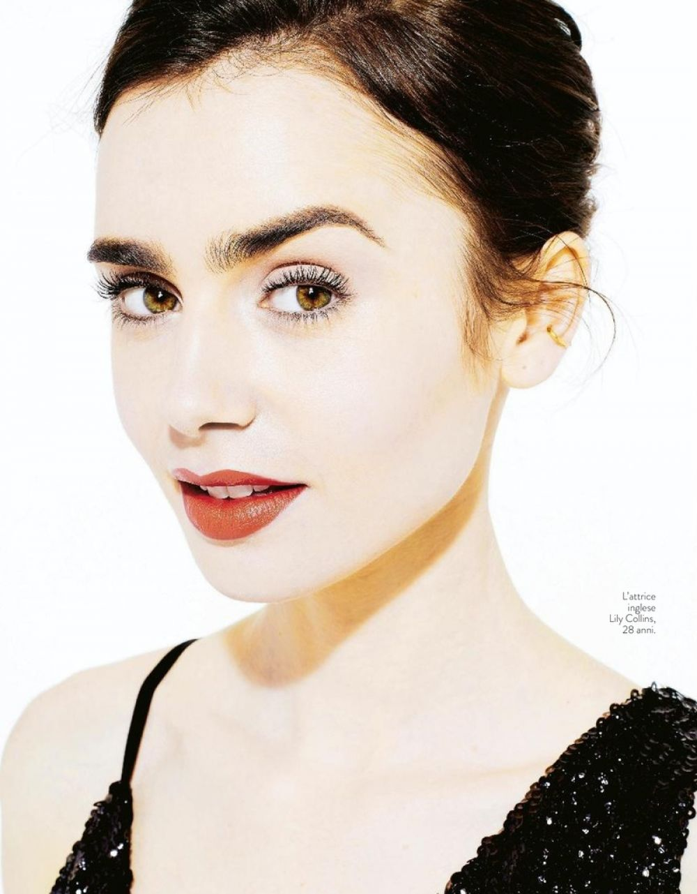 LILY COLLINS in Grazia Magazine, Italy July 2017