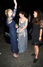 LILY JAMES at Vogue Party at Paris Fashion Week 07/04/2017