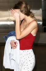 LILY-ROSE DEPP at Los Angeles International Airport 07/20/2017