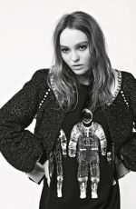 LILY-ROSE DEPP for Chanel Fall/Winter 2017/18 Collection