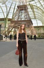 LILY TAIEB at Chanel Fashion Show at Haute Couture Paris Fashion Week 07/04/2017