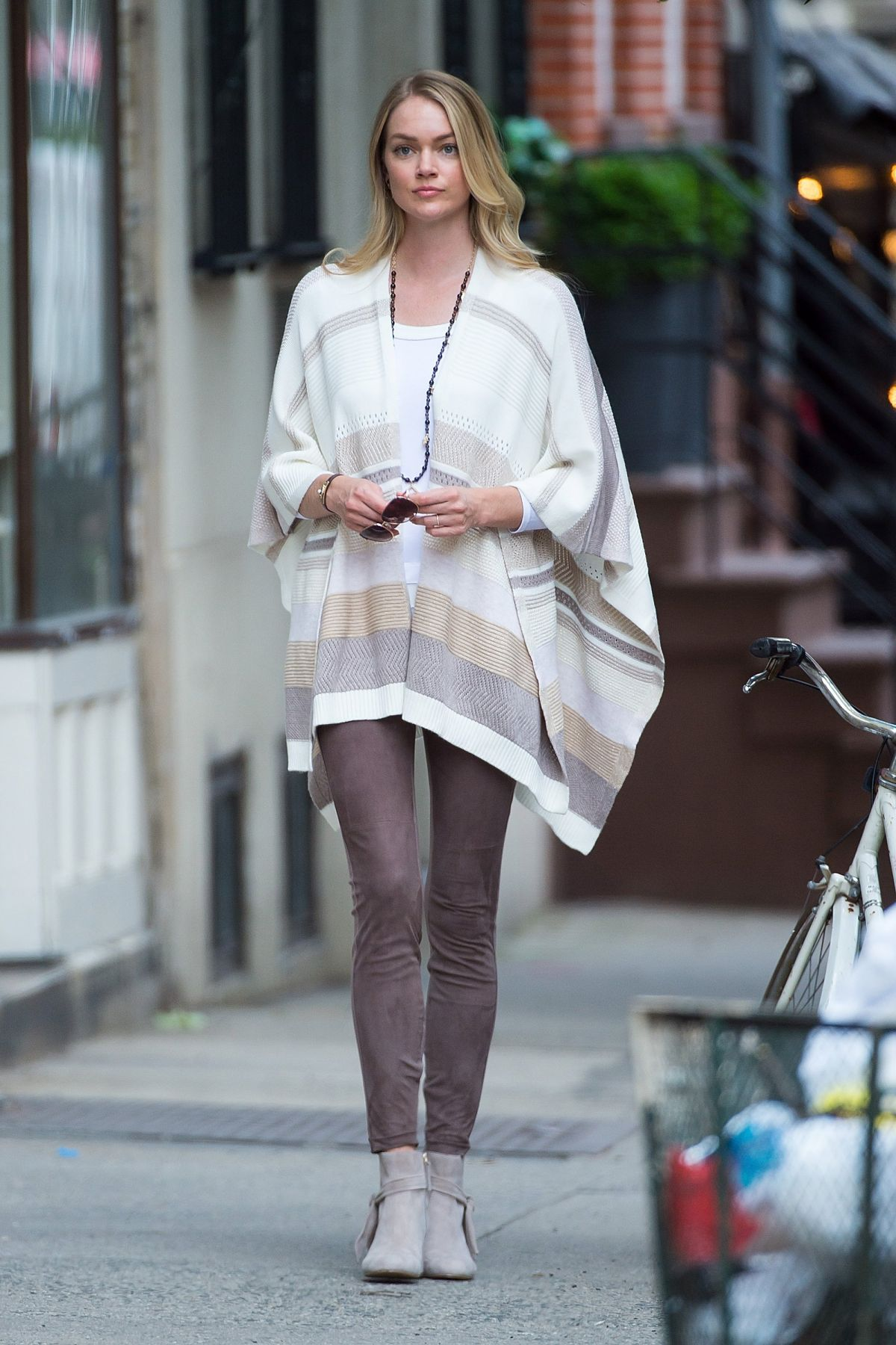LINDSAY ELLINGSON Out and About in New York 06/27/2017