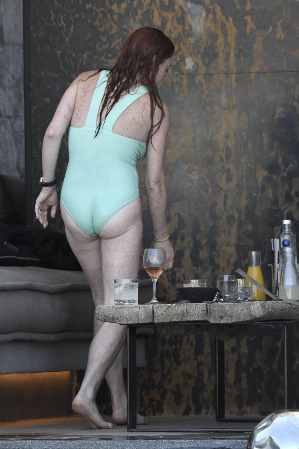 Lindsay Lohan Bikini 2017
