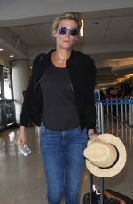 LINDSAY SHOOKUS at Los Angeles International Airport 07/07/2017