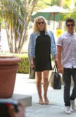 LINDSAY SHOOKUS Heading to Work in Los Angeles 07/10/2017