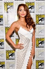 LINDSEY MORGAN at The 100 Panel at Comic-con in San Diego 07/21/2017