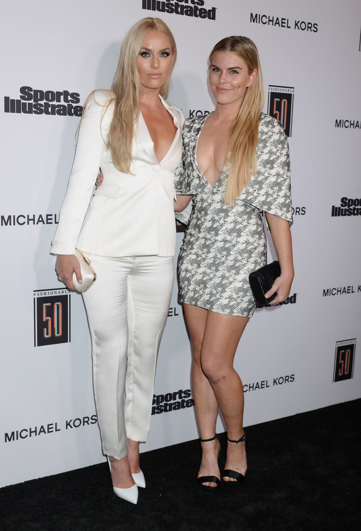 lindsey vonn at sports illustrated 2017 fashionable 50