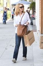 LISA KUDROW Out Shopping in Beverly Hills 06/30/2017