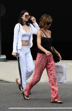 LISA RINNA and AMELIA HAMLIN Out and About in Beverly Hills 07/15/2017