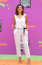 LIZ HERNANDEZ at Nickelodeon Kids' Choice Sports Awards in Los Angeles 07/13/2017