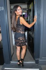 LIZZIE CUNDY and PASCAL CRAYMER at Pierre Haute Coiffure Beauty & Spa Salon in London 07/28/2017