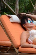 LIZZIE CUNDY at Sun Siyam Resort in Maldives 07/09/2017