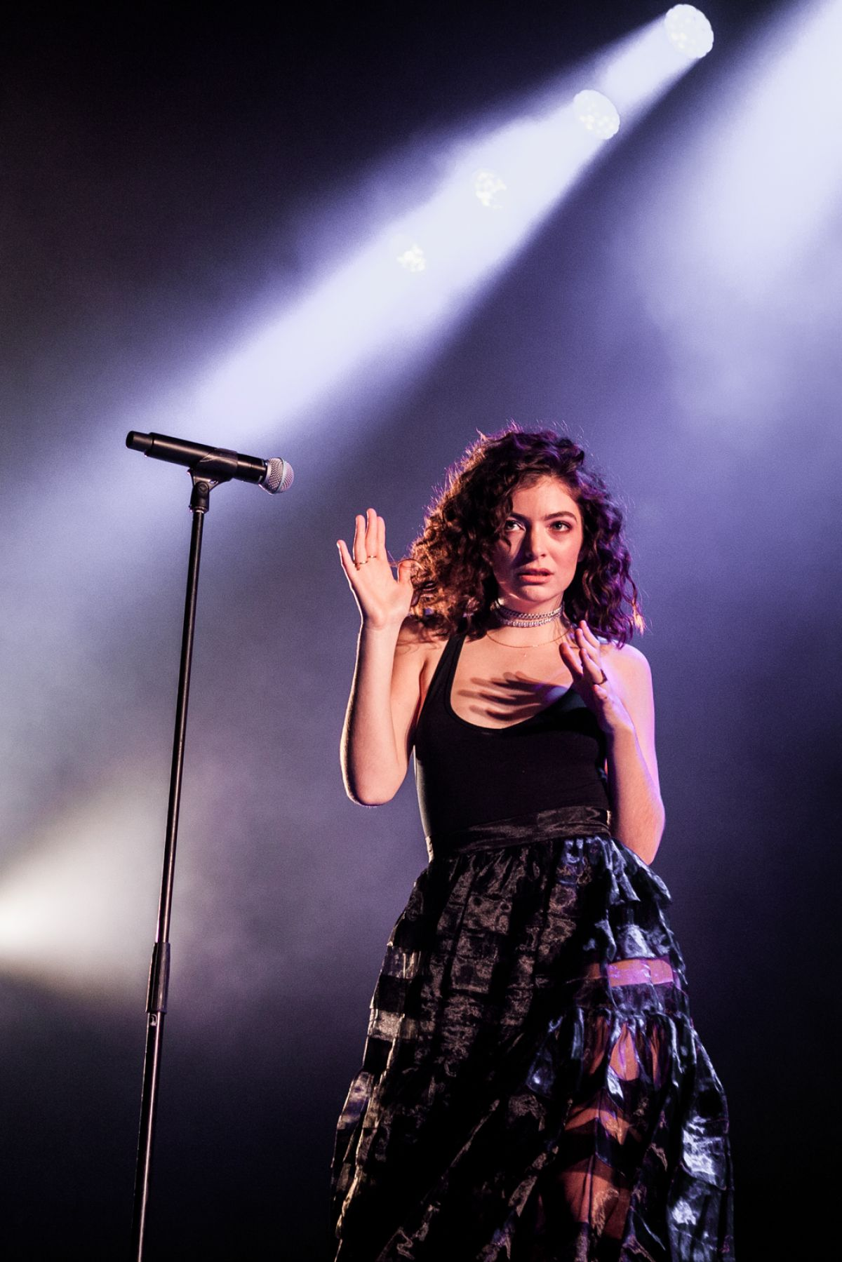 LORDE Performs at Roskilde Festival in Denmark 06/30/2017
