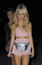 LOTTIE MOSS and ELLA ROSE Night Out in London 07/03/2017