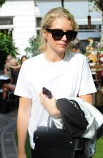 LOTTIE MOSS Out and About in London 06/30/2017