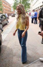 LOUISA JOHNSON at ITV Studios in London 07/04/2017