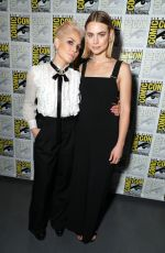 LUCY FRY at Bright Press Line at Comic-con in San Diego 07/20/2017