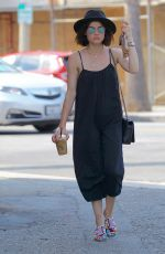 LUCY HALE at Alfred Coffee in Studio City 07/20/2017