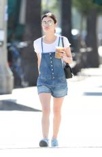 LUCY HALE Out and About in Los Angeles 07/06/2017