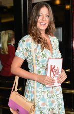 LUCY HOROBIN at Kinky Boots Musical Press Night in London 07/20/2017