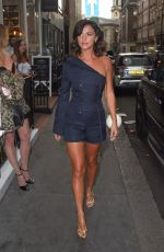 LUCY MECKLENBURGH Arrives One Love Exhibition in London 07/06/2017