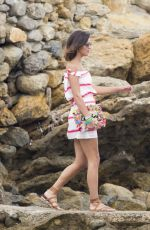 LUCY MECKLENBURGH at a Yacht in Ibiza 07/20/2017