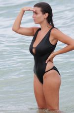 LUDIVINE SAGNA in Swimsuit at a Beach in Miami 07/20/2017