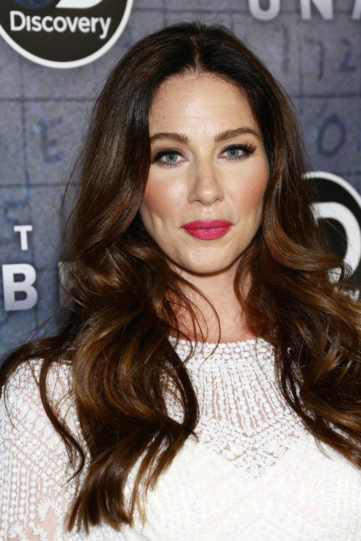 LYNN COLLINS at Manhunt: Unabomber TV Show Premiere in New