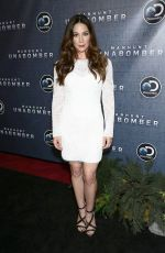 LYNN COLLINS at Manhunt: Unabomber TV Show Premiere in New York 07/19/2017