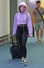 MADELAINE PETSCH at Airport in Vancouver 07/16/2017