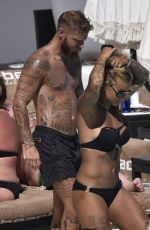 MADELEINE VALL BEIJNER in Bikini at a Pool in Marbella 07/05/2017