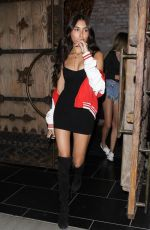 MADISON BEER at Tao Restaurant in Hollywood 07/09/2017