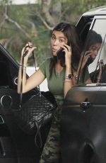 MADISON BEER in Camo Out and About in Beverly Hills 07/22/2017