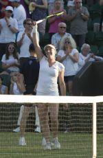 MADISON BRENGLE at Wimbledon Championships 07/04/2017