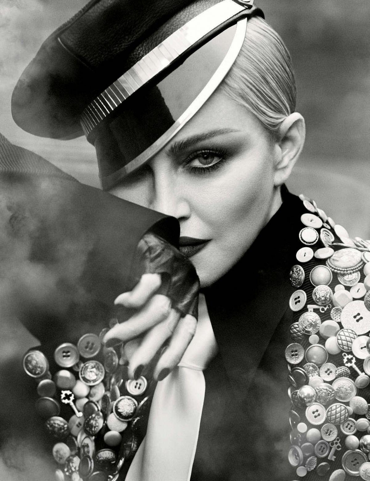 MADONNA for Vogue Magazine, Germany April 2017