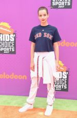MAEMAE RENFROW at Nickelodeon Kids' Choice Sports Awards in Los Angeles 07/13/2017