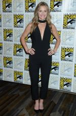 MAGGIE LAWSON at Psych Press Line at Comic-con in San Diego 07/21/2017
