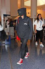 MAISIE WILLIAM at LAX Airport in Los Angeles 07/12/2017