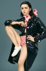 MAISISE WILLIAMS in Elle Magazine, February 2017