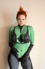 MAITLAND WARD in Cosplay for Comic-con in San Diego 07/21/2017