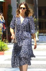 MANDY MOORE Heading to a Nail Salon in Beverly Hills 06/30/2017