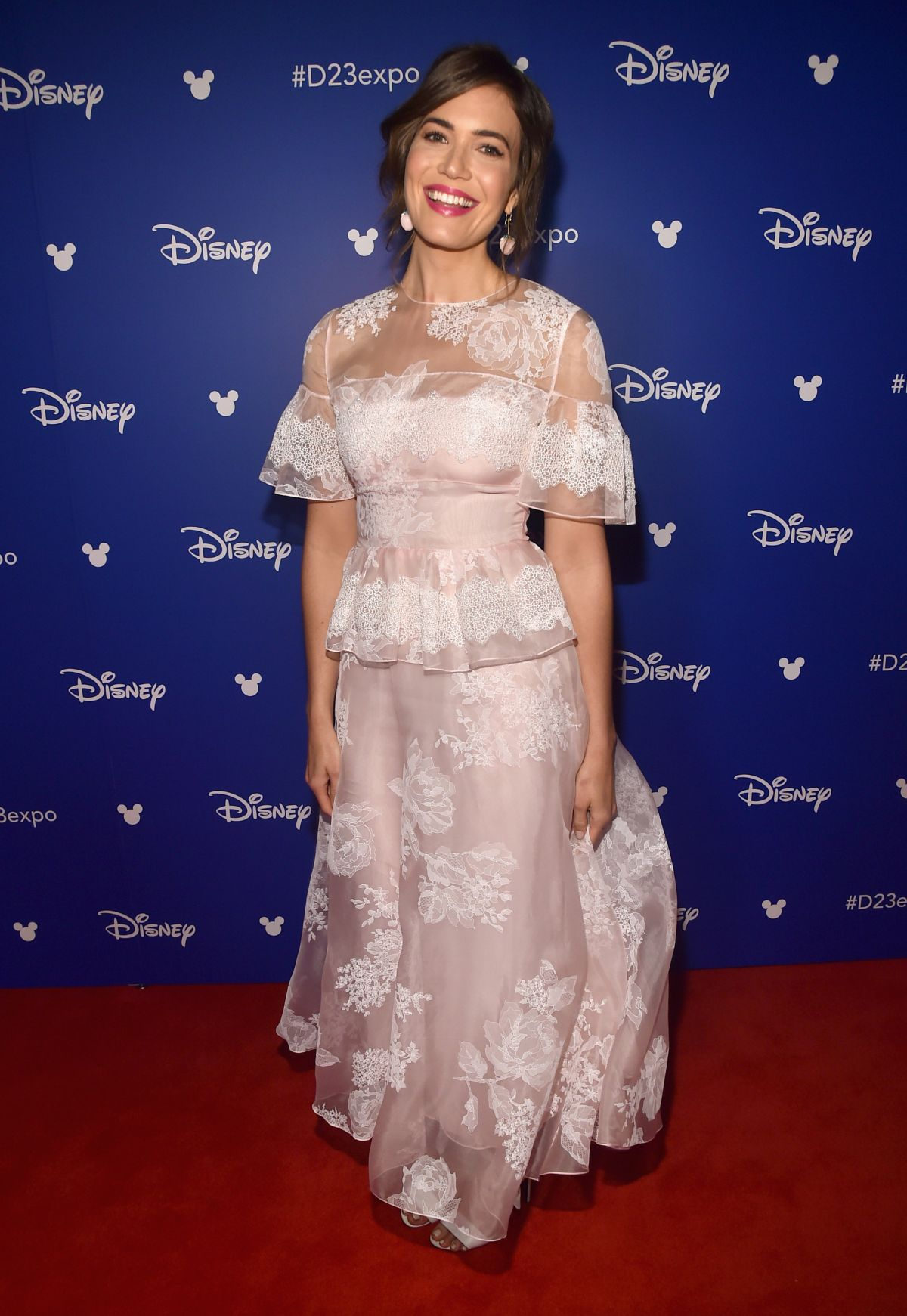 MANDY MOORE at Disney's D23 Expo 2017 in Anaheim 07/15/2017