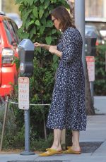 MANDY MOORE Leaves a Nail Salon in Beverly Hills 07/17/2017
