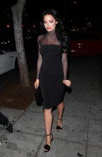 MARA TEIGEN at Delilah Nightclub in West Hollywood 07/03/2017