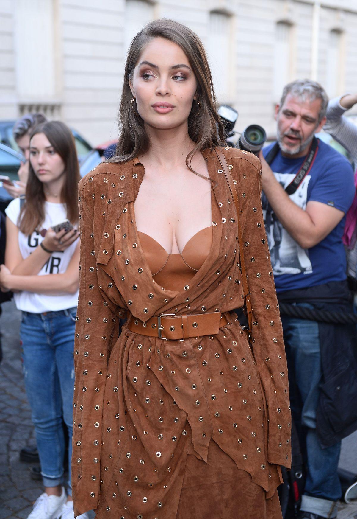MARIE-ANGE CASTA at Vogue Party at Paris Fashion Week 07/04/2017