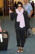 MARIE AVGEROPOULOS at Airport in Vancouver 07/23/2017