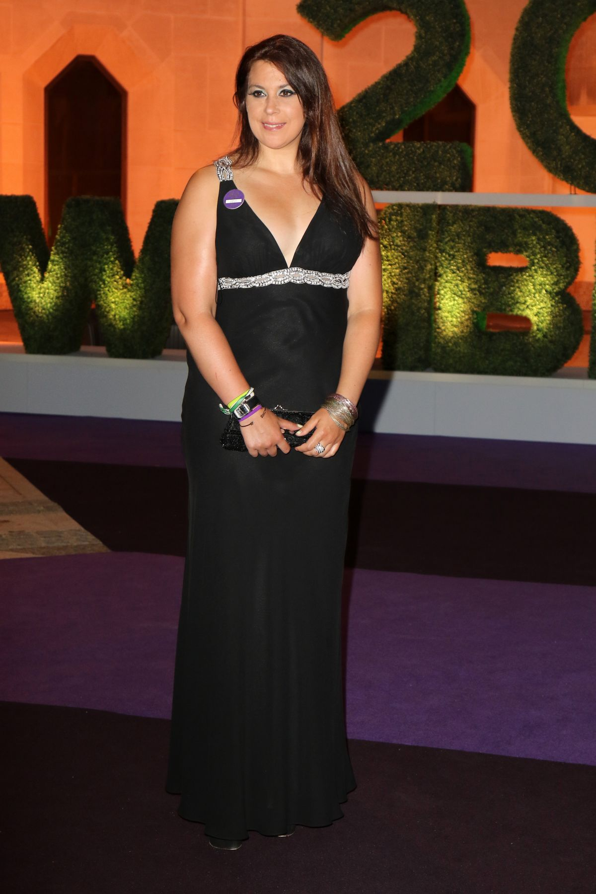 MARION BARTOLI at Wimbledon Champions Dinner in London 07/16/2017
