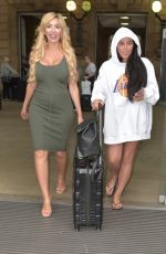 MARNIE SIMPSON and FARRAH ABRAHAM Arrives in Newcastle 07/09/2017