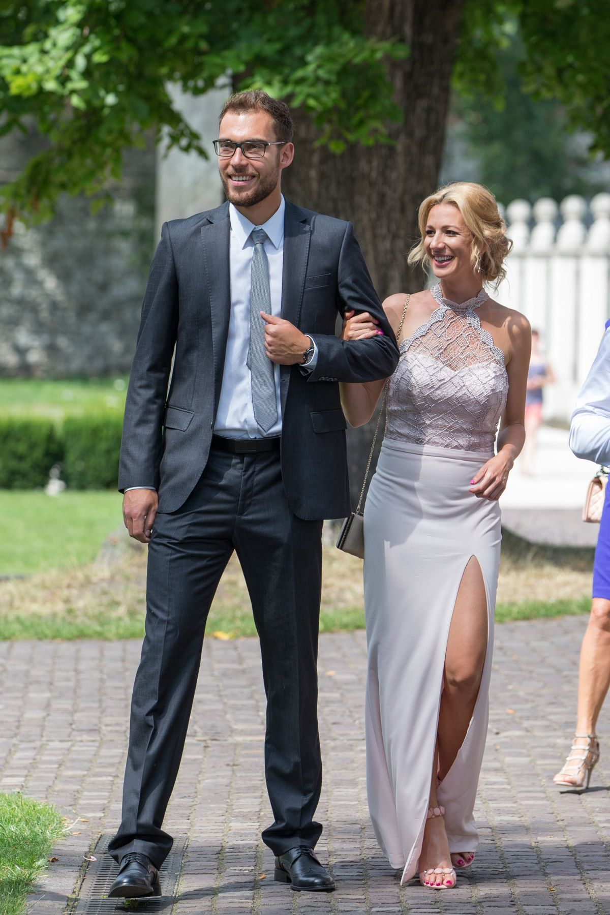 MARTA DOMACHOW at Agnieszka Radwanska Wedding in Cracow 07/22/2017