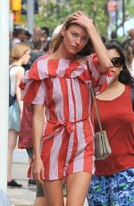 MARTHA HUNT Out and About in New York 07/08/2017